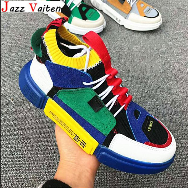 Jazz Vaiten China popular style Men street hiphop Skateboarding Shoes couples Leather stitching Sneaker Torre shoes