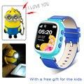 Q80 GPS Smart Watch Безопасный Дети Наручные Часы с SOS Вызова Расположение детектив GPS Трекер Ребенка Smart Watch с бесплатный подарок послал