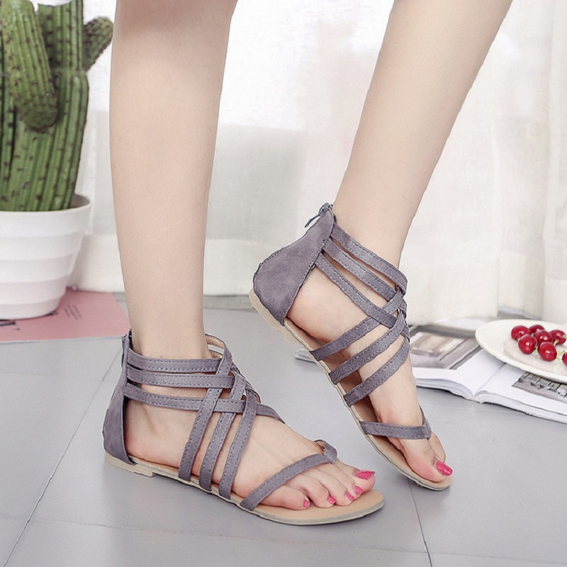 New Women Sandals Bohemia Ladies Shoes Narrow Band Summer Beach Gladiator Sandal Women Casual Shoes Openwork Female Shoes BT715 summer women sandals elastic band gladiator sandals women beach shoes bohemia wedges shoes sandalias mujer ladies shoes or876610