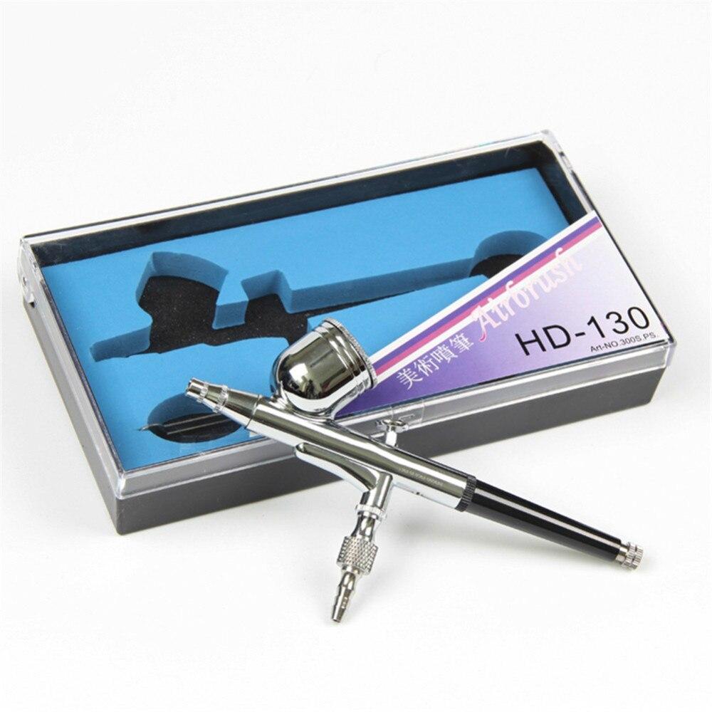 Модель распылителя OHS Ustar HD130, экономичная Аэрограф Двойного Действия 0,3 мм, инструменты для рисования, аксессуары
