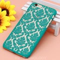 Phone Cases for Apple iphone 6 6s 7 Plus 7Plus 5s 5 SE 5C Vintage Flowers Pattern Hard Plastic Phone Covers For iphone 7 Case