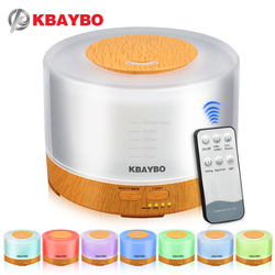 500ml remote control aroma essential oil diffuser ultrasonic air humidifier with 4 timer settings 7 color.jpg 250x250