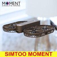 Оригинальный SIMTOO момент складной селфи Дрон БНФ Wi Fi FPV 12MP 4 К UHD Радиоуправляемый квадрокоптер gps ГЛОНАСС оптического потока Камера drone