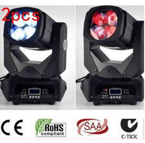 2pcs/LED Super Beam 4x25W LED moving head beam light for Bar effect led stage lighting