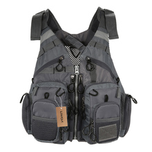 Lixada Outdoor Breathable Fishing Vest Superior Bearing Life Safety Jacket Waistcoat Utility Vest Fishing Tackle