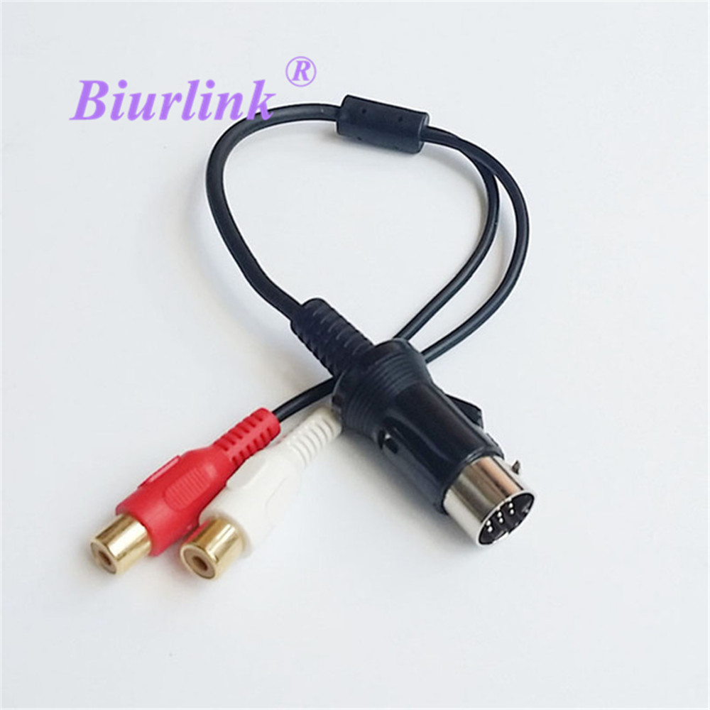 Biurlink Auto Radio Externe Audio Kabel Adapter für Kenwood <font><b>13</b></font>-<font><b>Pin</b></font> image