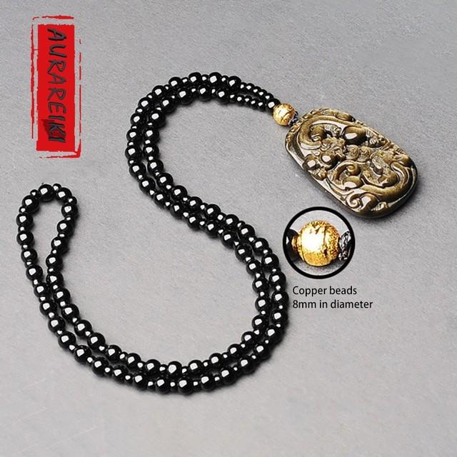 Golden Chinese PI XIU Pendant