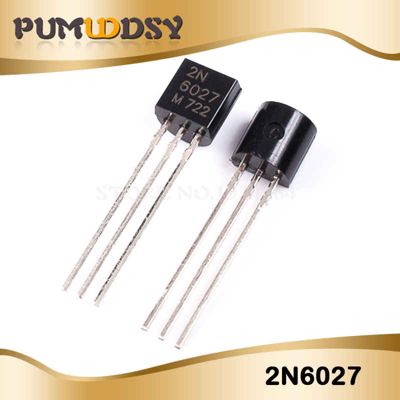 10Pcs 2N6027 6027 Trans Prog Unijunct 40V TO92 US Stock n