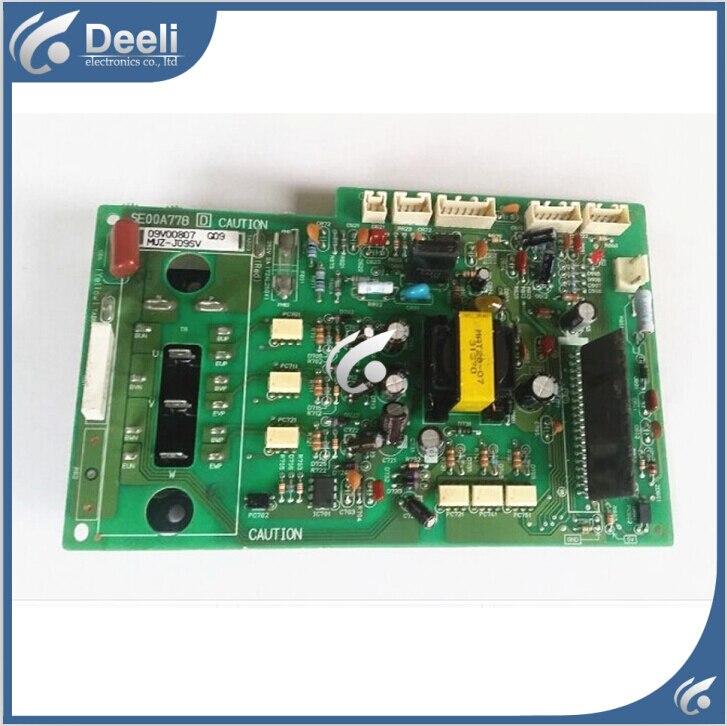 все цены на 95% new good working for air conditioning computer board Module Frequency Board SE00A778 MUZ-J09SV онлайн