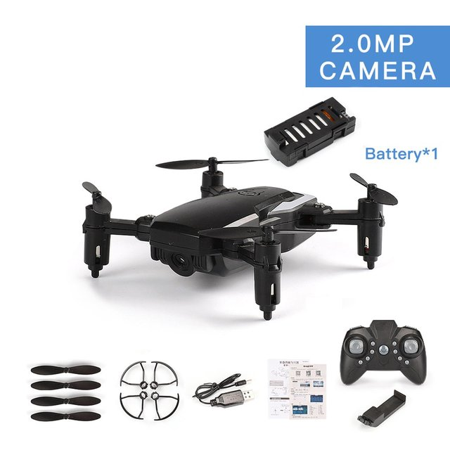 LF606 RC Drone With 720P Camera FPV Quadcopter Foldable RC Drones HD Altitude Hold Mini RC Drone Helicopter Quadcopter Model Toy
