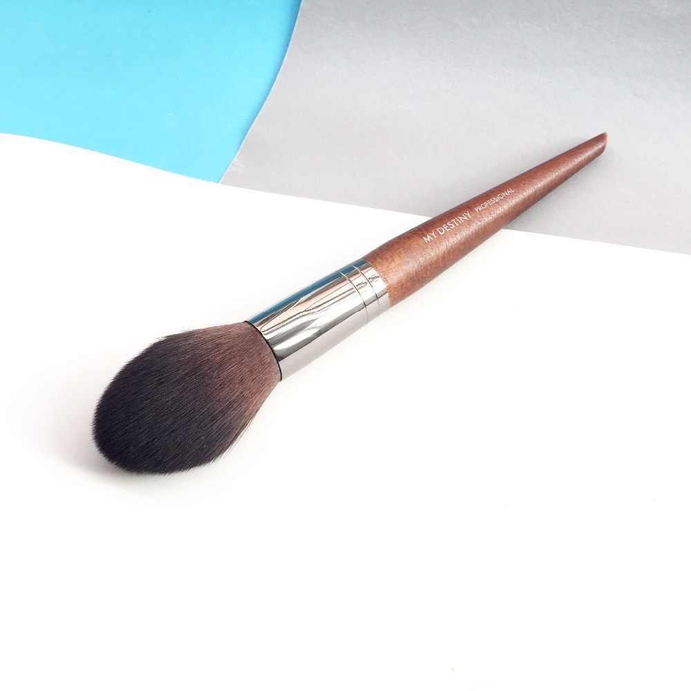 Кисть коническая кисть MUF #160-заостренный кончик для румян порошки-красота макияж кисти блендер аппликатор