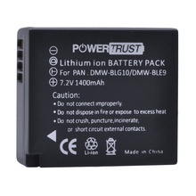1Pcs DMW BLG10 BLG10E BLG10PP BLE9 BLE9E Battery for Panasonic Lumix DMC GF6 GX7 GF3 GF5