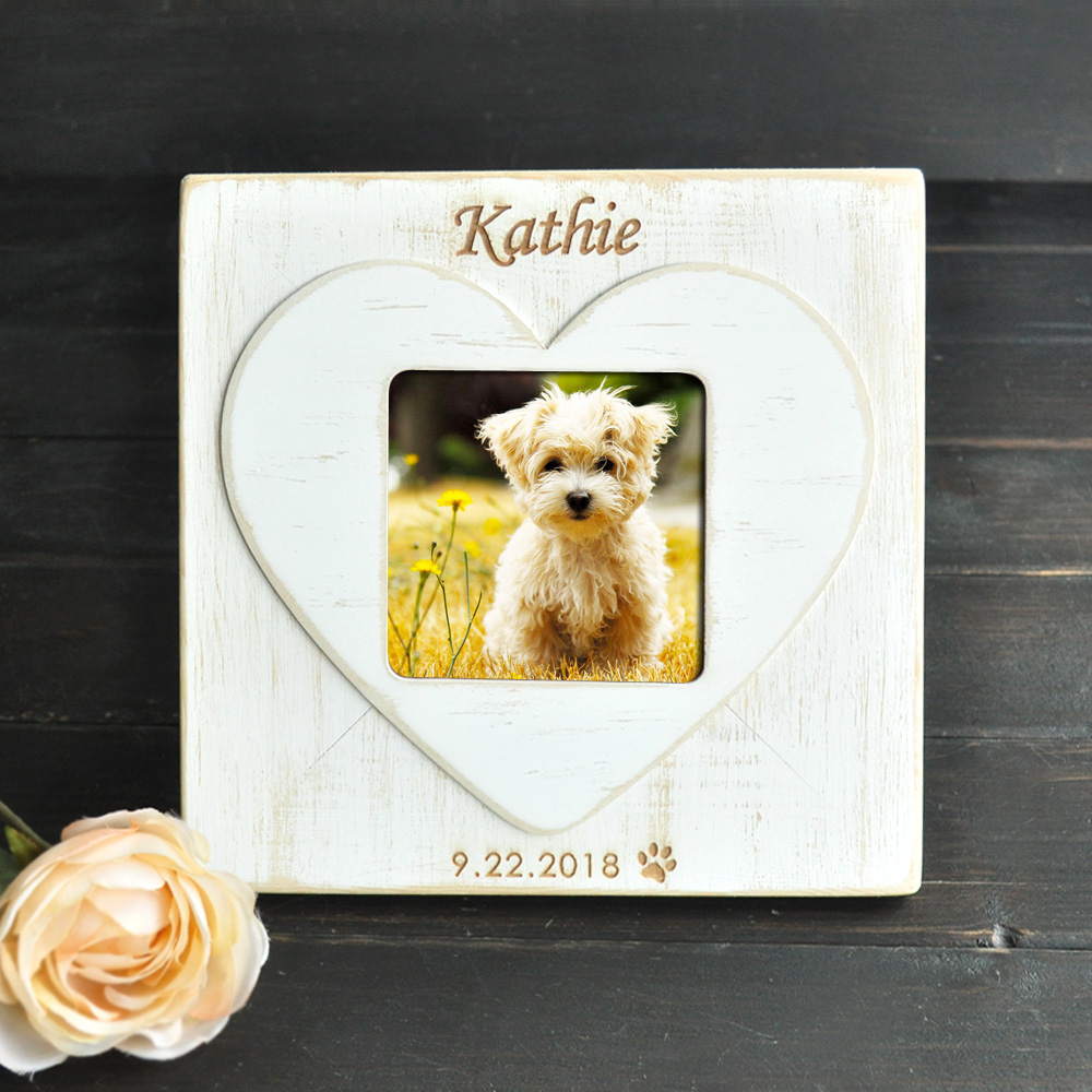 Aliexpress.com : Buy Personalized Dog Picture Frame Pet Gift, Custom ...