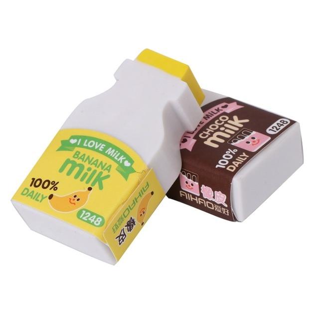 2pcspack cute milk bottle design eraser nice gift funny student 2pcspack cute milk bottle design eraser nice gift funny student gift kidss toy office negle Images