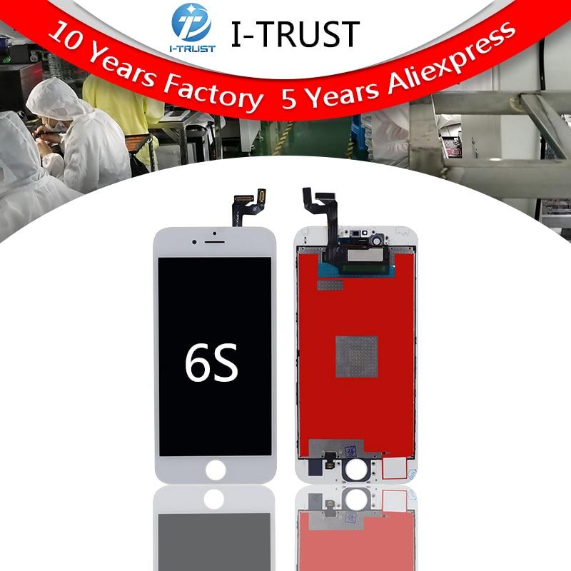 10 stks Tianma kwaliteit Touch Screen Voor iPhone 6 s LCD Vervanging & Touch Screen Digitizer Vergadering Display Geen Dode pixel Gratis DHL-in LCD's voor mobiele telefoons van Mobiele telefoons & telecommunicatie op AliExpress - 11.11_Dubbel 11Vrijgezellendag 1