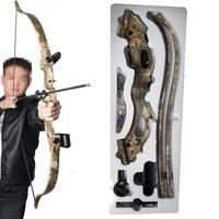 20LBS Archery Bows And Arrows Camouflage Plastic Aim Shooting Hunting Practice Bow Accessories Set