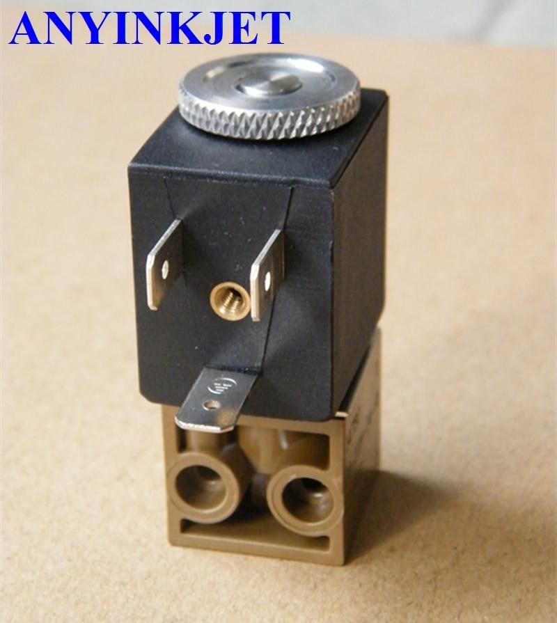 For Domino valve Domino solenoid valve 2WAY 24V 3.8W 14780 for Domino A100 A200 A300 Domino A series Printer грипсы domino