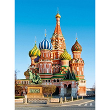 цена на Image of St. Vasily Cathedral, Red Square in Moscow FULL 5D diamond embroidery mosaic pattern  painting cross stitch GIFT