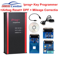 New Iprog+ Iprog Pro Mileage Odometer Correction Airbag Scan Tool IMMO Auto Key Programmer DPF Replace Digiprog III Carprog 8.21