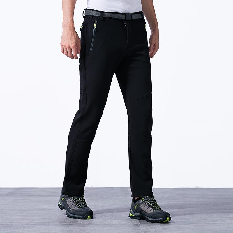 Prix pour 5XL de 2017 Hommes Hiver Intérieure Épaisse Toison Pantalon Sport En Plein Air Chaud et Imperméable Randonnée Escalade Randonnée Ski Mâle Pantalon VA064