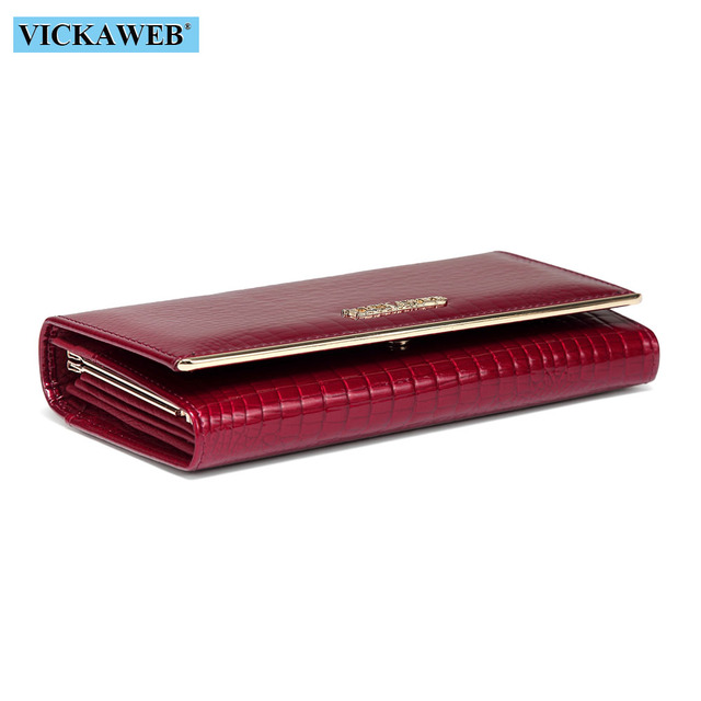 Women Wallets Brand Design High Quality Leather Wallet Female Hasp Fashion Dollar Price Alligator Long Women Wallets And Purses 3