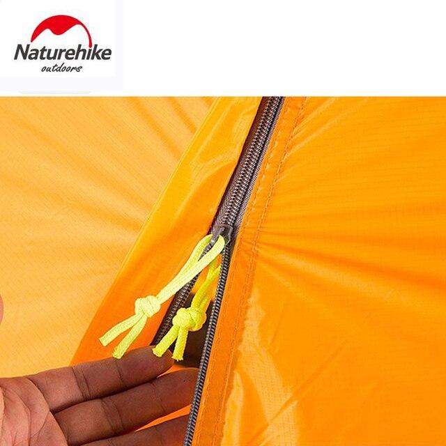 NATUREHIKE ultralight tent 1 person outdoor camping tent trekking hiking waterproof tourist tents Single carpas barraca tenda