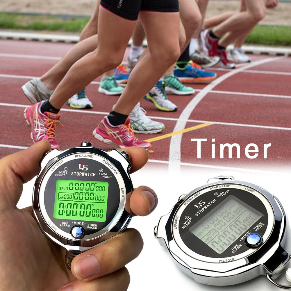 Stopwatch Timer Metal Training Timer Field Events Referee Luminous One Thousandth Of A Second Running Timer