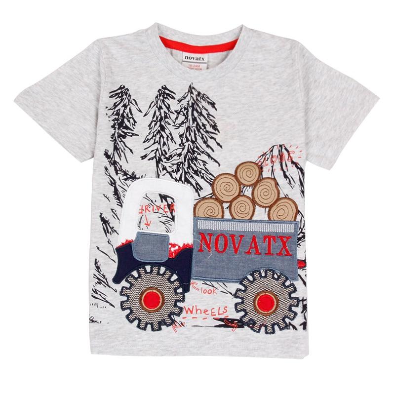 novatx dzieci noszą dzieci t-shirty 2018 letnie dziecko krótki - Ubrania dziecięce - Zdjęcie 1