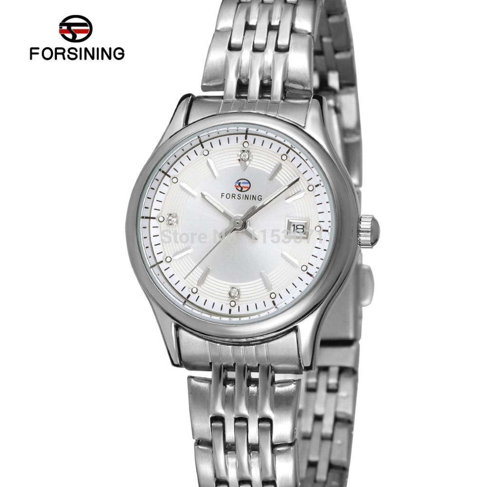 FSL8089Q4S1 Forsining fashion new quartz women watch with stainless steel bracelet original gift box free shipping new 48v 500w samsung lithium battery electric bicycle 10an large capacity 27 speed shimano 26 x4 0 electric snow bike