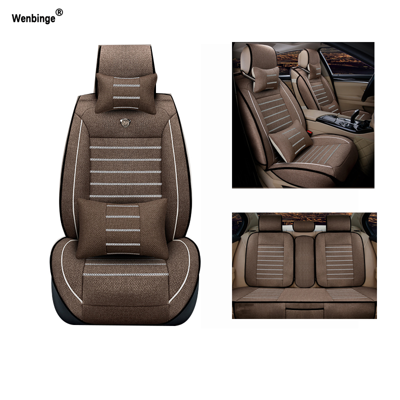 Breathable car seat covers For Volkswagen vw passat polo golf tiguan jetta touareg auto accessories car-styling 3D silk breathable embroidery logo customize car seat cover for vw volkswagen polo golf fox beetle sagitar lavida tiguan jetta cc