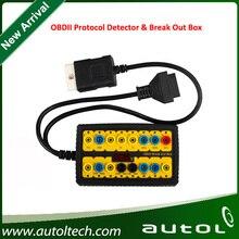 Fast Shipping! OBDII Protocol Detector & Break Out Box Universal Auto Diagnostic Tool