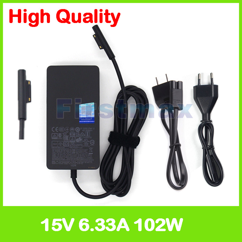 15V 6 33A 102W laptop charger 1798 ac adapter for Microsoft Surface Book 2 13 5