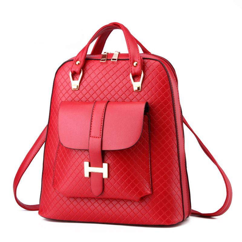 Candy Colors Fashion Women Backpacks Lady Bag Brand Design Shoulder Bags Girls Students Teenager School Back