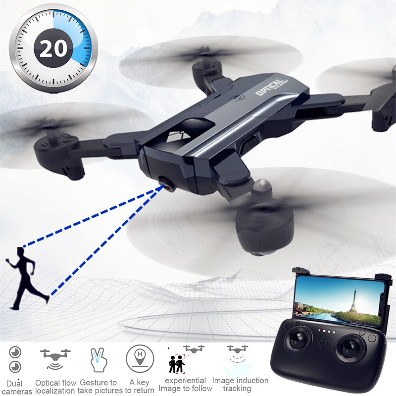X196 HD 2MP RC Camera Drone with 20 mins Flight Time and Follow Me Function 2