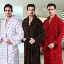 AZO FREI terry baumwolle frottee nachtkleid, männer nachtwäsche männer bademantel heißer verkauf