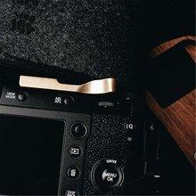 Bronze polegar aperto polegar resto quente capa de sapato para fuji x100f xpro2 xt20 xt10 xpro1 fujifilm x100f fuji xpro2 xpro1 fujifilm x pro2