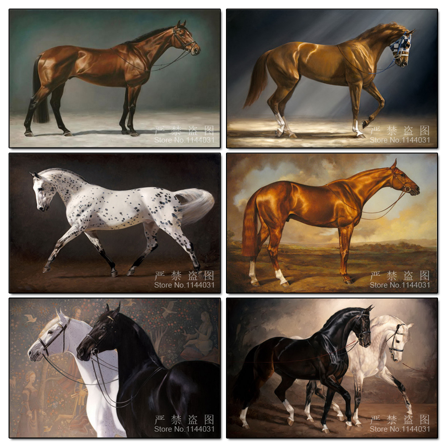 Diy Diamond Painting Embroidery Animal 5D Cross Stitch Crystal Full Diamond Sets Unfinish Decorative Diy Diamond Painting Horse