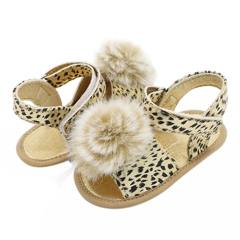 Baby Shoes Newborn Baby shoes First Walkers Shoes Leopard Baby Girl PU Fashion Princess Shoes Multan