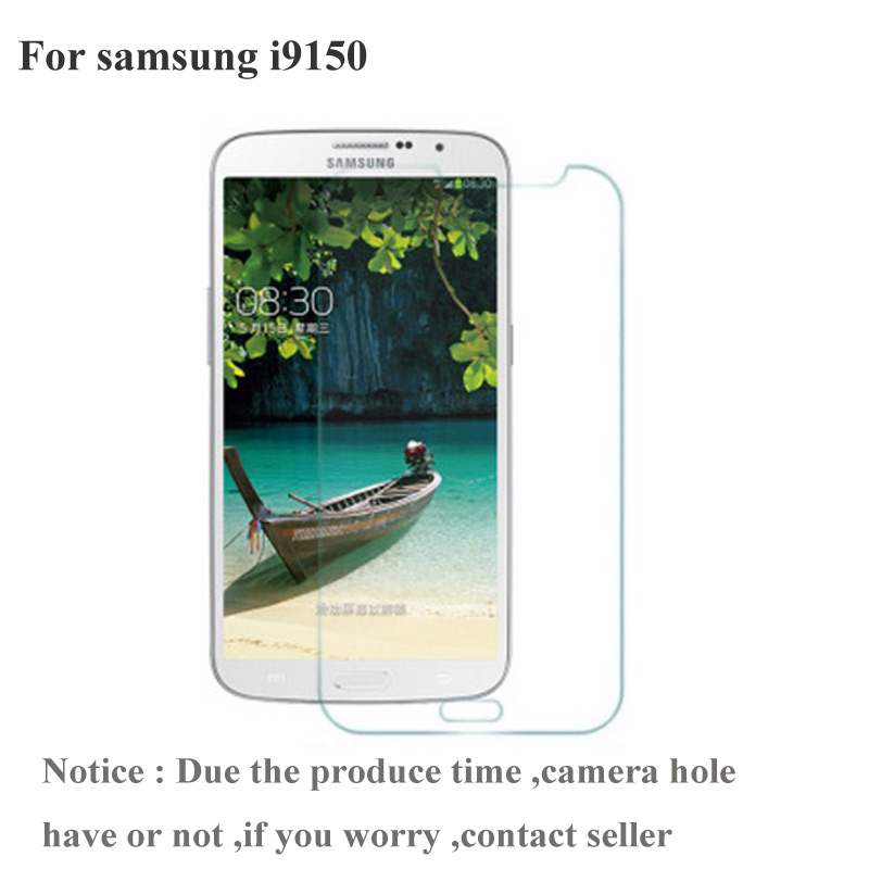 2PCS For Samsung Galaxy Mega 5.8 i9150 i9152 Screen protector Ultra Thin Tempered Glass  ...