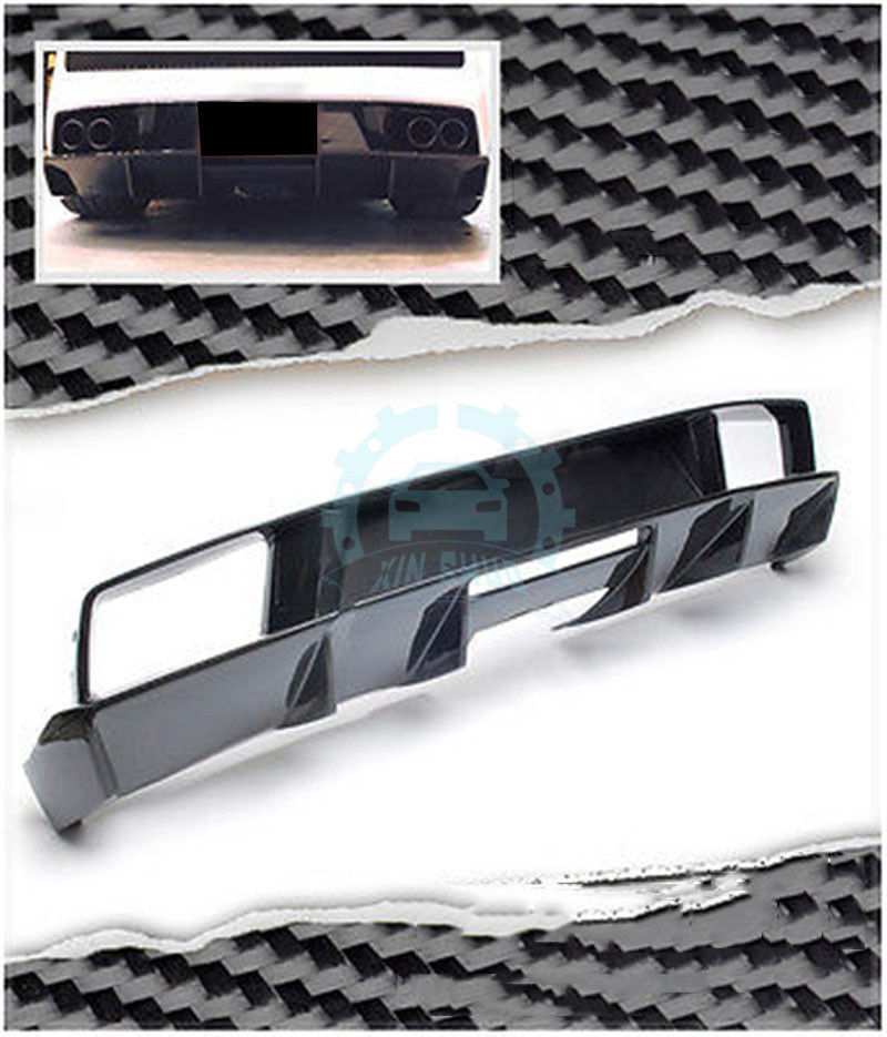 Auto Replacement Parts Exterior Parts Carbon Fiber Car Rear Diffuser Fit For Lamborghini Gallardo Coupe&spyder Lp560 Lp570 Strong Resistance To Heat And Hard Wearing