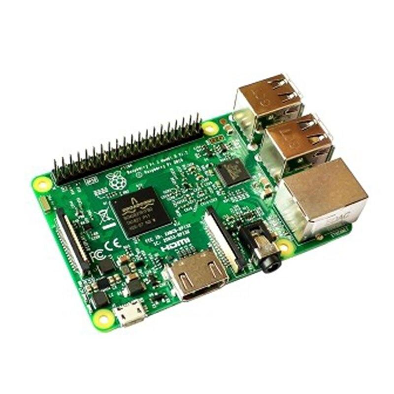 1 pièces Original framboise Pi 3 modèle B avec WiFi & Bluetooth RS carte de développement tarte framboise # Hbm0458