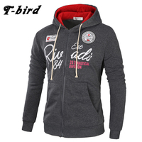 T Bird Brand 2017 Hoodies Brand Men Letter Printing Sweatshirt Male Hoody Hip Hop Autumn Winter