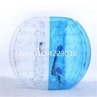 Бесплатная доставка 1,5 м ТПУ Материал надувной пузырь футбольный мяч бампер Бурлящий шарик Zorb пузырь Футбол