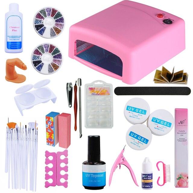 Pro Set For Manicure Tools For Manicure 36W UV Lamp Manicure Set ...