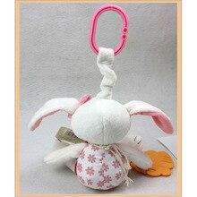 Mobile Musical Rabbit Baby Rattle Toys Kawaii Stuffed Animal Bunny Stroller Crib Toys
