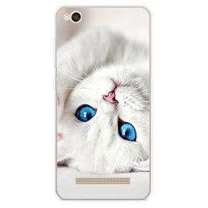 "Image 2 - Phone Case for Xiaomi Redmi 4a Case 5.0"" Cute Silicon Soft TPU Back Cover Painted Shell for Xiomi Redmi 4a Bumper fundas Capa"