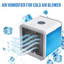 2018 Arctic Air Cooler Small Air Conditioning Appliances Mini Fans Air Cooling Fan Summer Portable Conditioner(China)