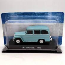 IXO Altaya 1:43 IKA Estanciera 1965 Diecast Models Collection Miniature Toys Car 1 43 ixo diecast model car brazilian classic fiat uno 1983 miniature vehicle