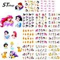 1 sets 11 designs Cartoon Princess Nail Art Water Transfer Stickers Foils Watermark Decals DIY Beauty Nail Supplies BLE488-498