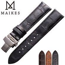 Maikes 316l нержавеющая сталь Бабочка Пряжка с ремешком для